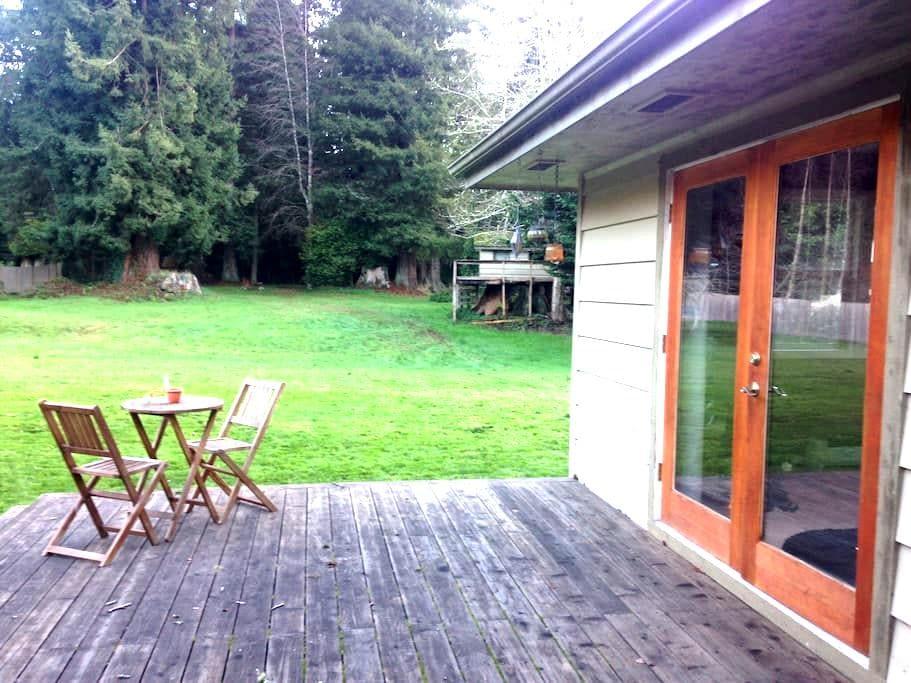 Redwood Retreat- near Arcata/Eureka - Bayside - Apartament