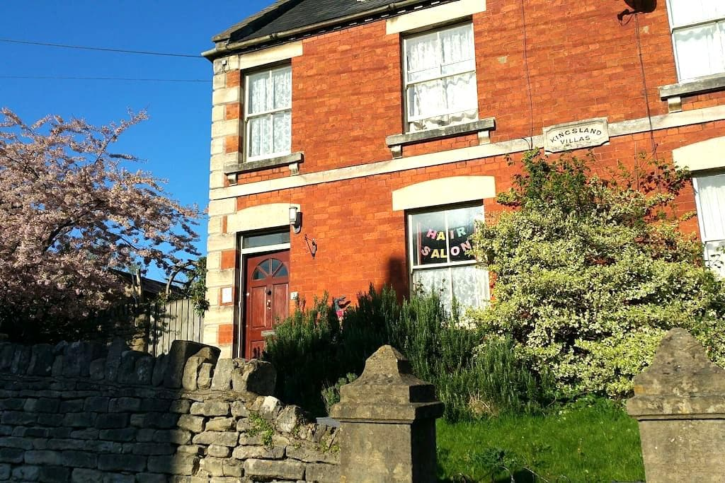 Room for 2 at Bohemian Rodborough - Stroud - Bed & Breakfast