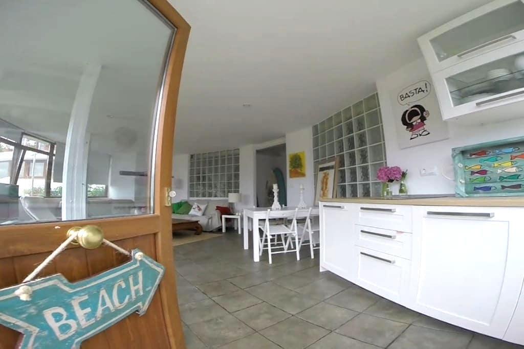 Apartamento ideal entre dos playas. - Suances - Dom