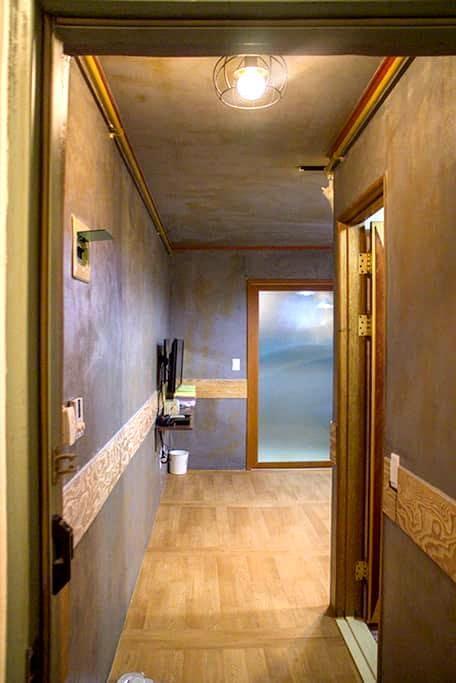 교통이 편리한 작은 공간(Furnished studio) - Seo-gu - Appartement