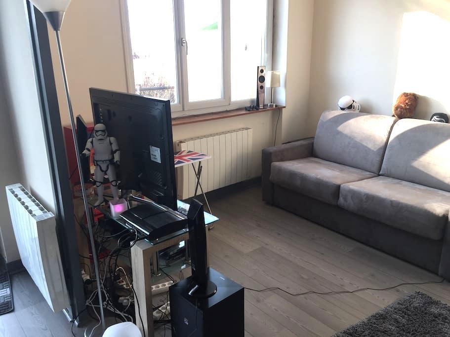Appartement de 24m2 idéal voyageurs - Pont-d'Ain - Leilighet