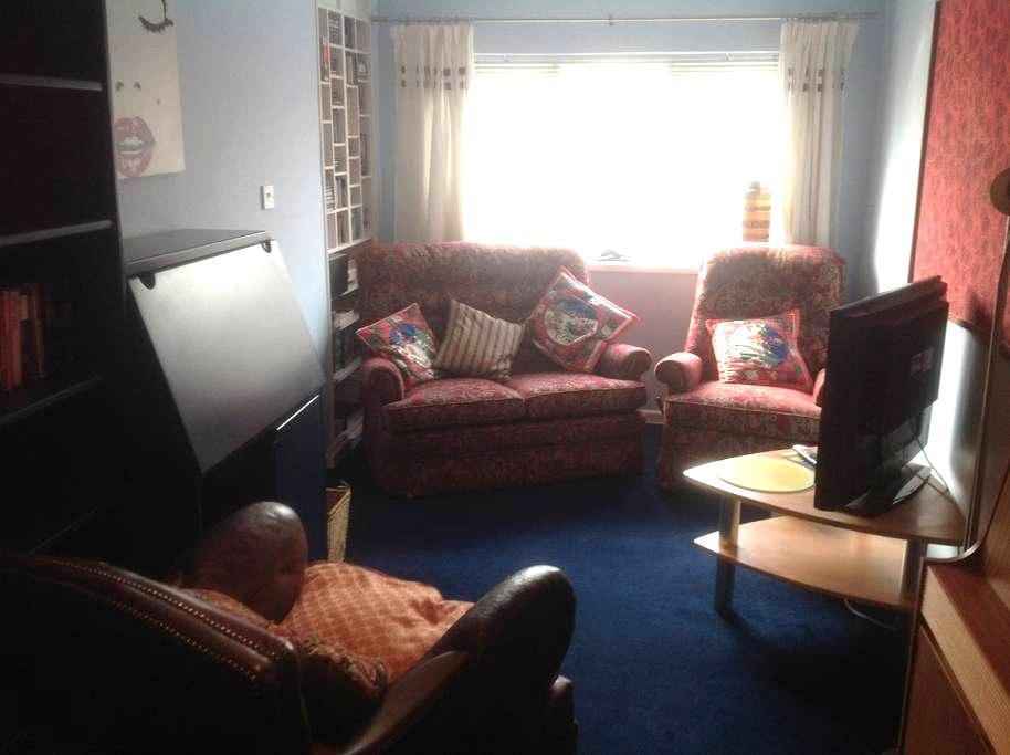 Self-contained flat with twin beds - Ipswich - Appartement