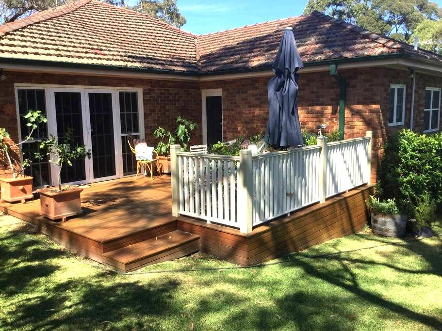 Private entrance to private bedroom and bathroom - Hunters Hill - Casa