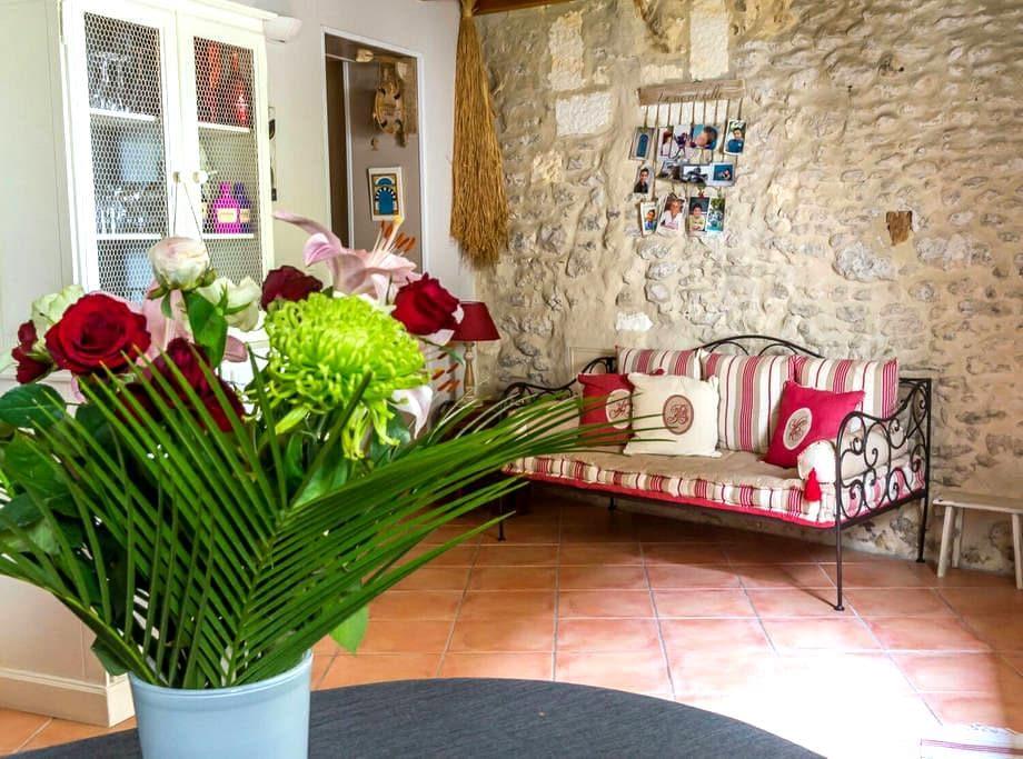 Maison de charme proche de Cognac - Javrezac - Rumah