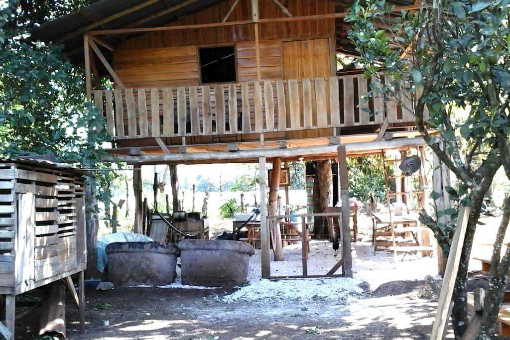 Campo, flora y fauna a tu alcance! - Nicoya - Cabaña
