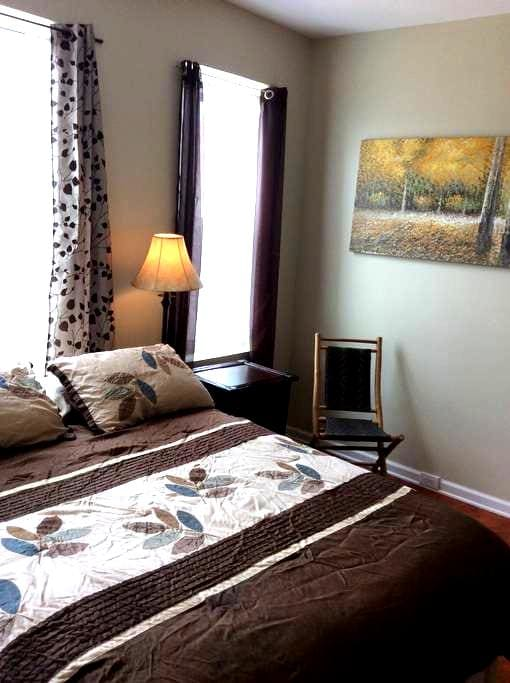 Cozy, private 1 BR near Downtown - Pittsburgh - Appartement