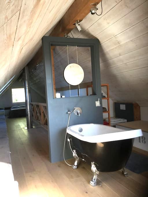 Suite sous les combles dans une maison passive - Hem - Vila