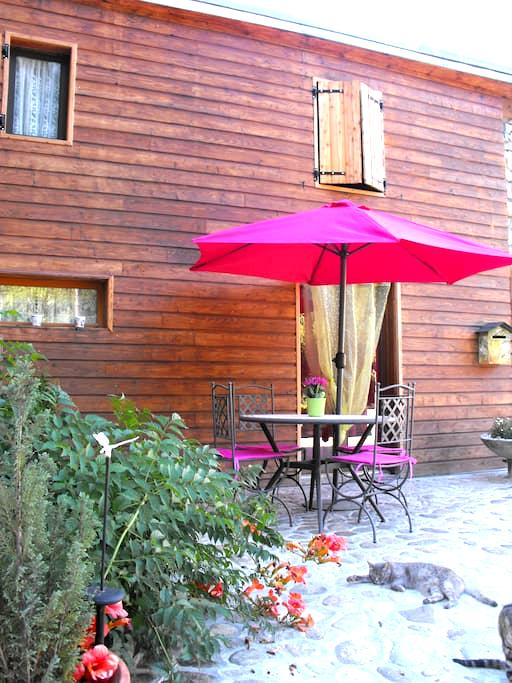 appartement T1+, terrasse fermée - Ornolac-Ussat-les-Bains