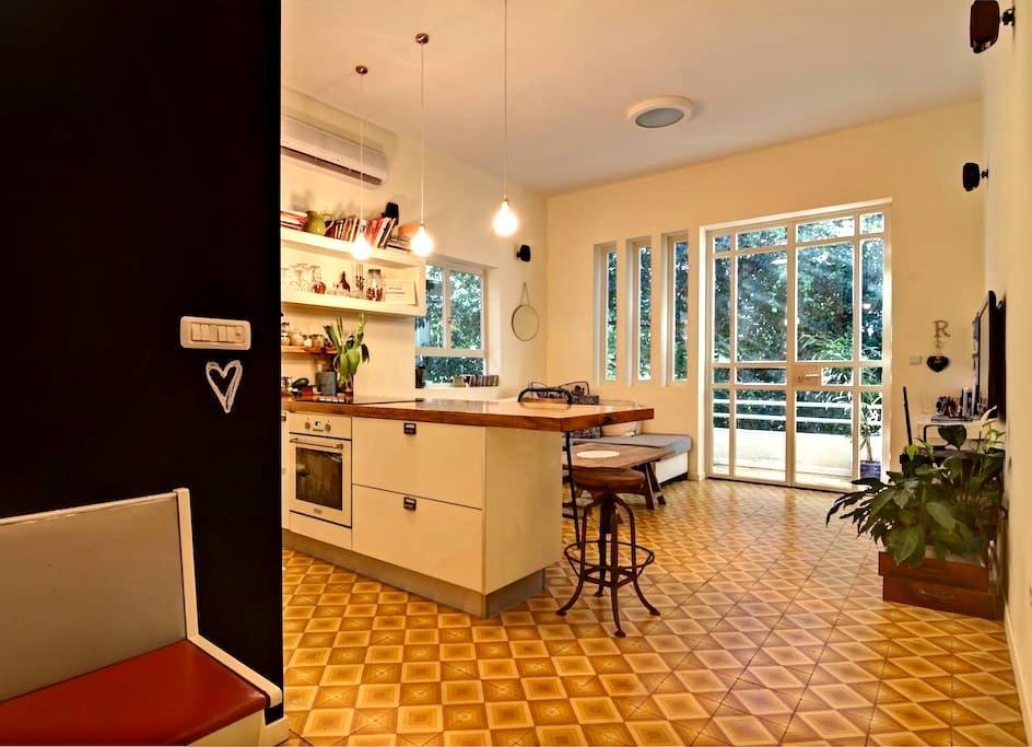 Amazing flat~Best location in TLV! - Tel Aviv - Apartmen