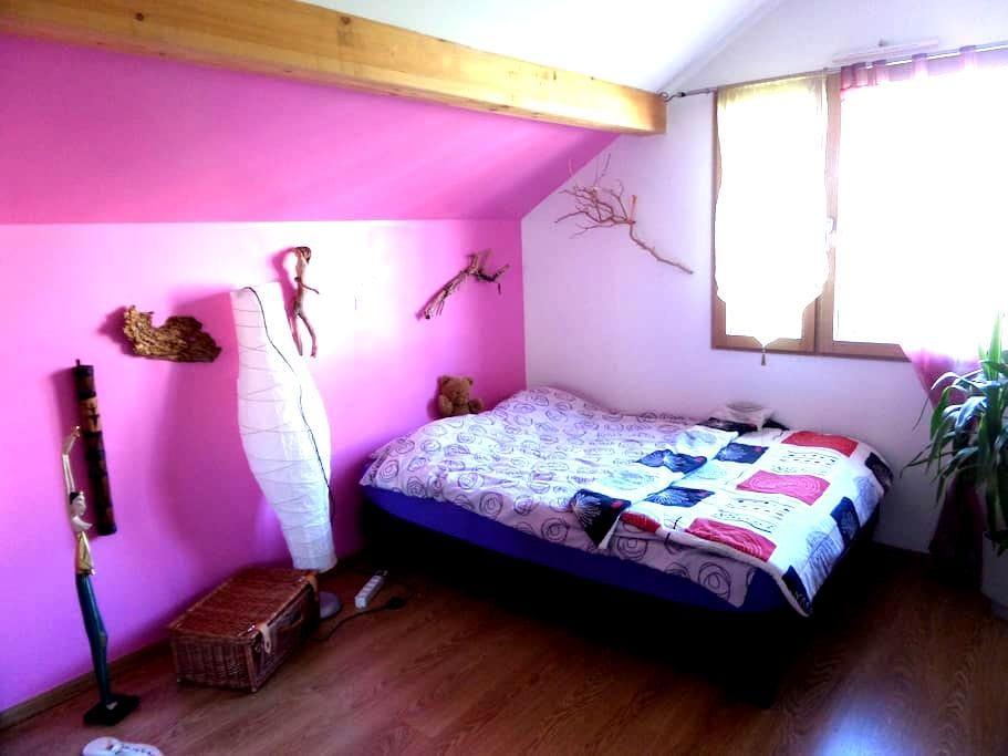 Chambre tranquille - Cruseilles - Apartament
