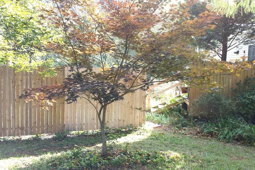 Small, private apartment attached to house. - Blacksburg - House