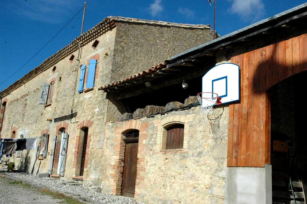 Chambre meublée au 1er étage - Avignonet-Lauragais - House