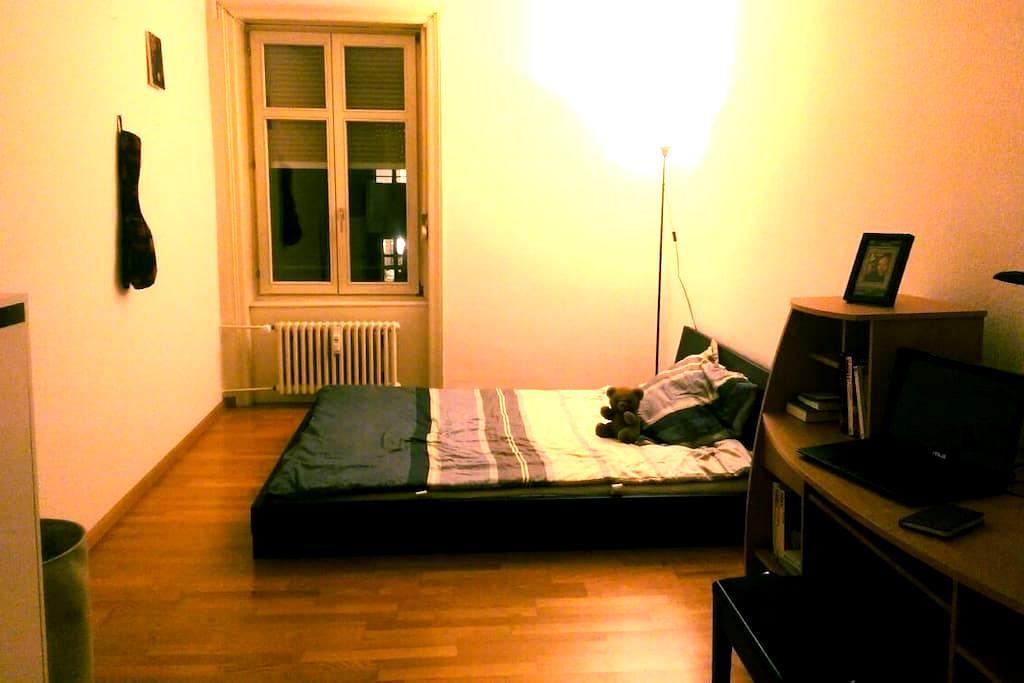 Private room near to Messeplatz! - Basel - Lägenhet