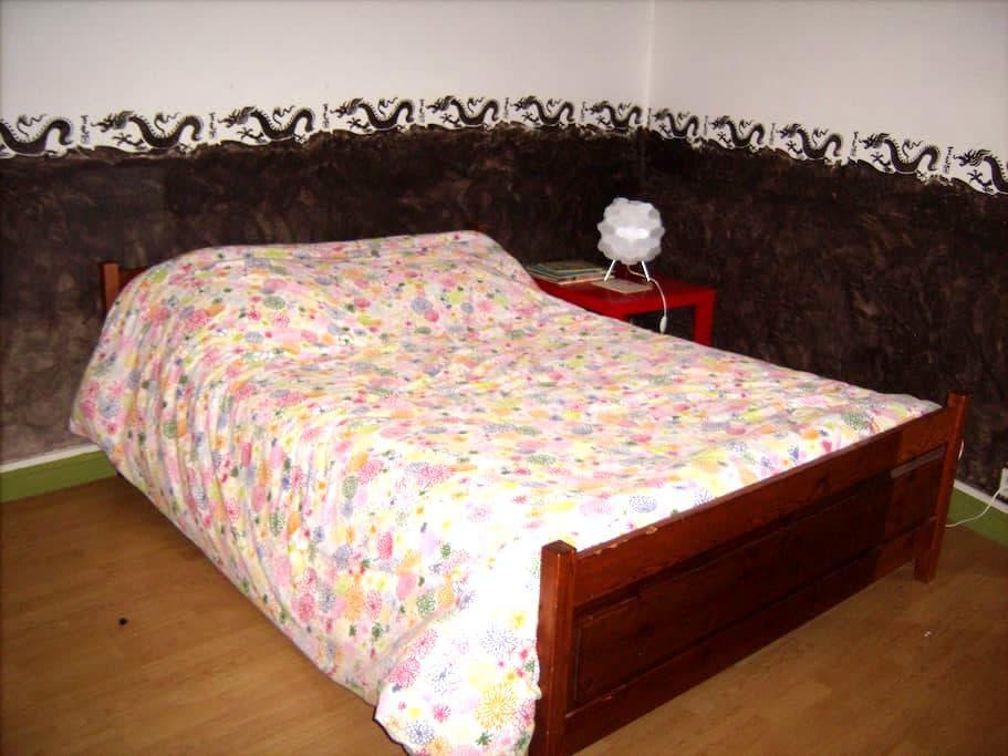Chambre 2 - Les Andelys - Apartament