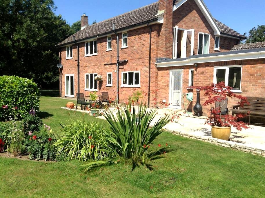 Countryside views, come & go freely - Harleston - Bed & Breakfast