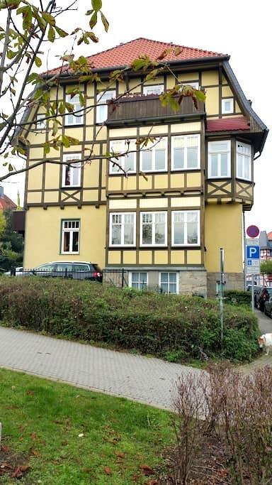 Mitten im Zentrum, trotzdem im Grünem - Wernigerode - 公寓