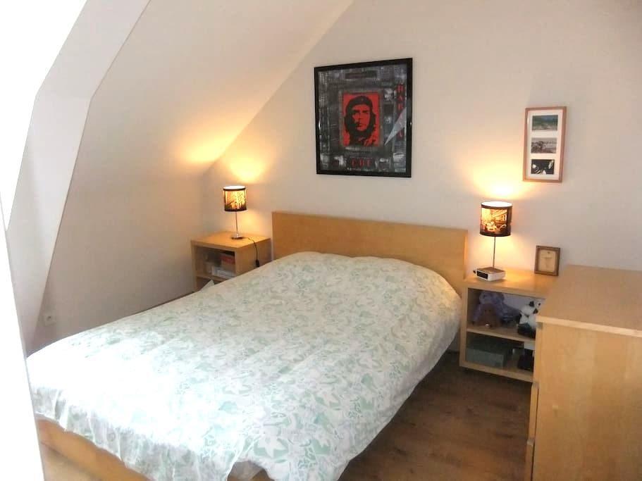 chambre privée - Bain-de-Bretagne - Apartamento