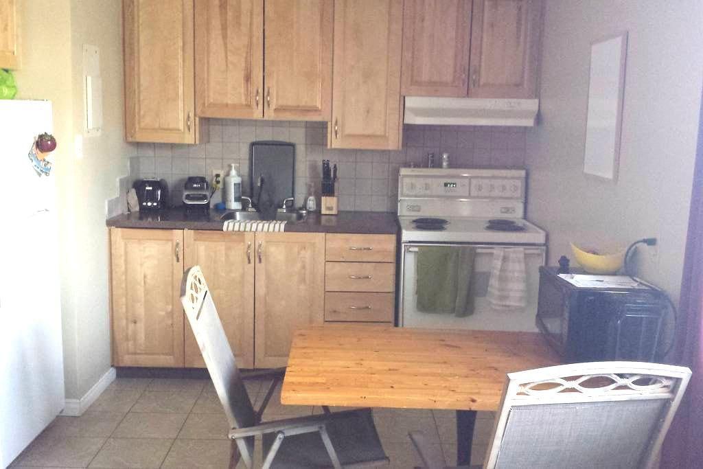 Bel espace logement près de tout - Sherbrooke - Leilighet