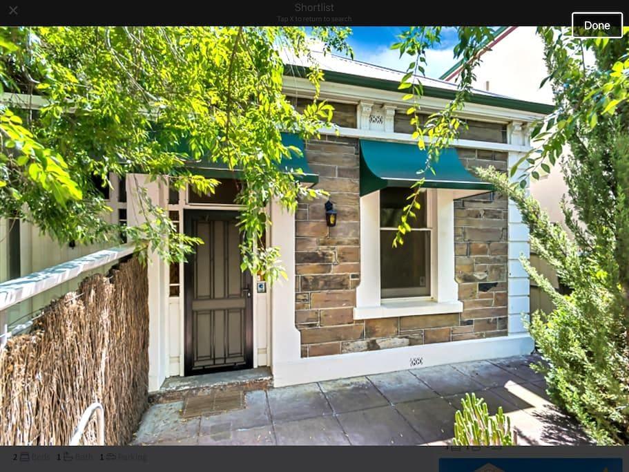 Fresh & lovely central cottage - Adelaide - Rumah