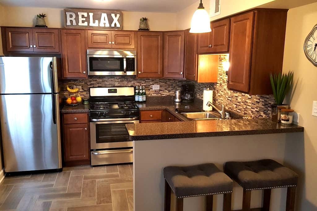 Warm, modern one bedroom, close to it all! - Chicago Ridge - Wohnung