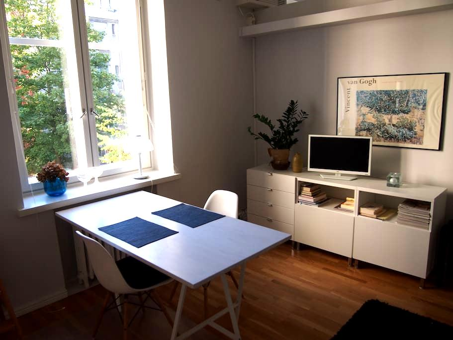 Bright, modern Design District apt - Helsinki - Appartement