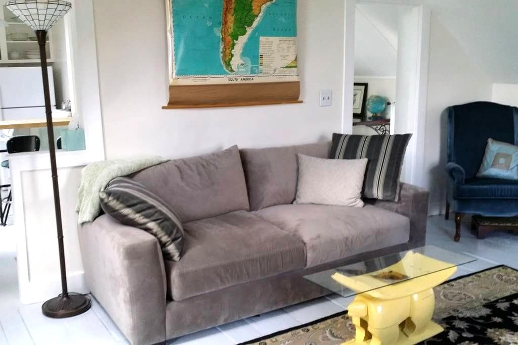 Sunny apt in 1873 Colonial, recently renovated! - Plainfield - Appartement