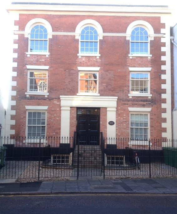 Apartment in Georgian conversion - Newark-on-Trent - Appartement
