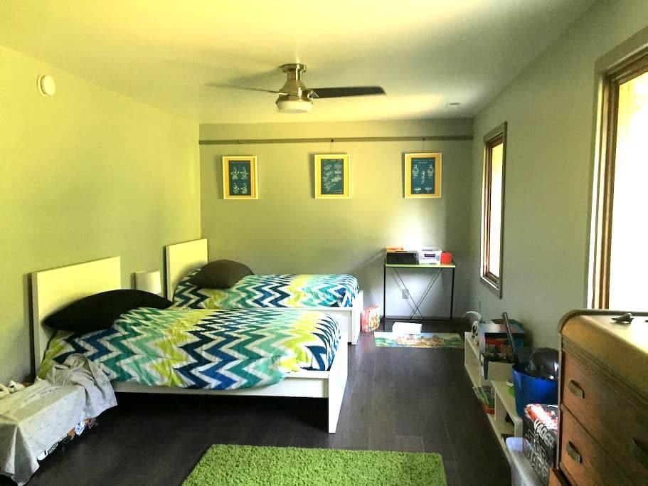 """Meldroch - twin beds/shared bath"" - Muncie - Huis"