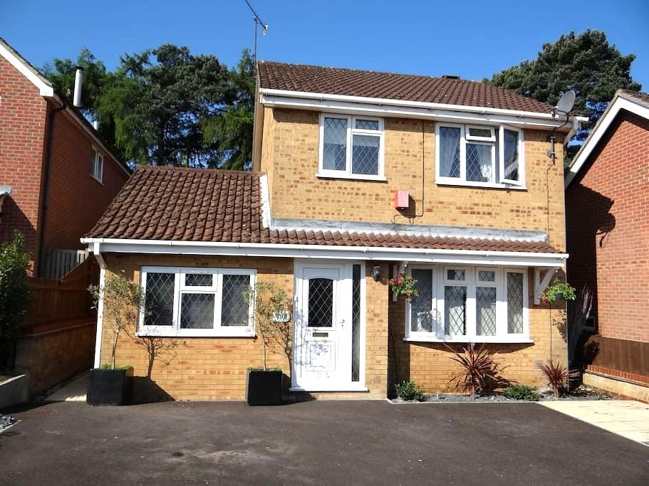 A Chantry Park View - Ipswich - Huis