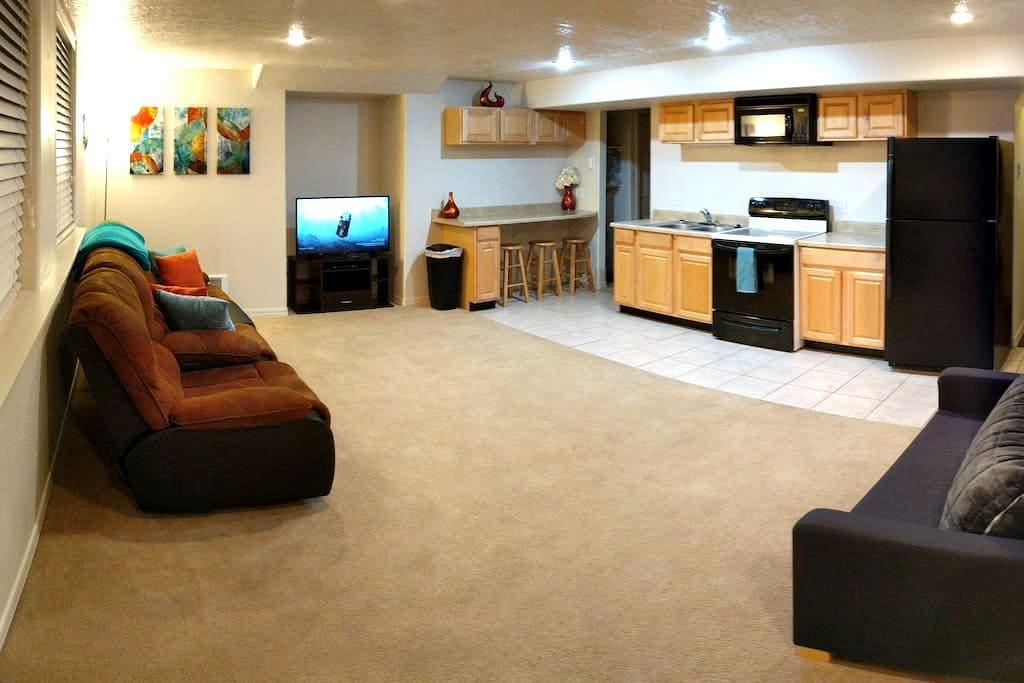Basement Apartment w/Kitchen - Rexburg - Apartmen