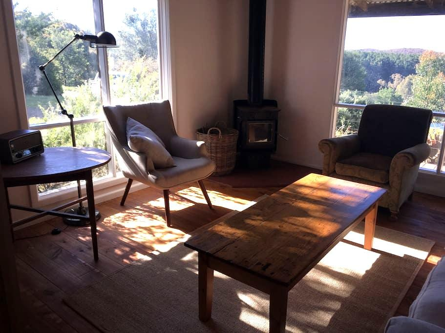 Wild Duck Cabin- solitude, space and views - Glenlyon - Stuga