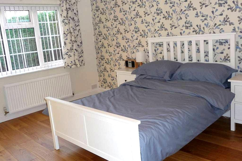 Private Double Room with En-Suite - Collingham, Newark on Trent