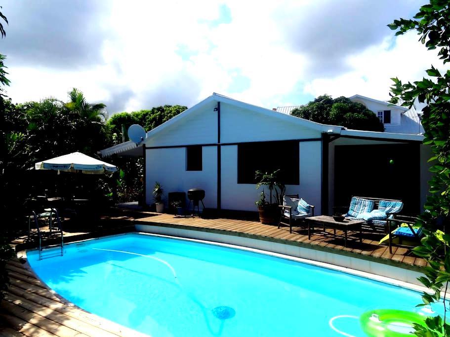 Esprit d'aventure bungalow - Plateau-Caillou - Casa
