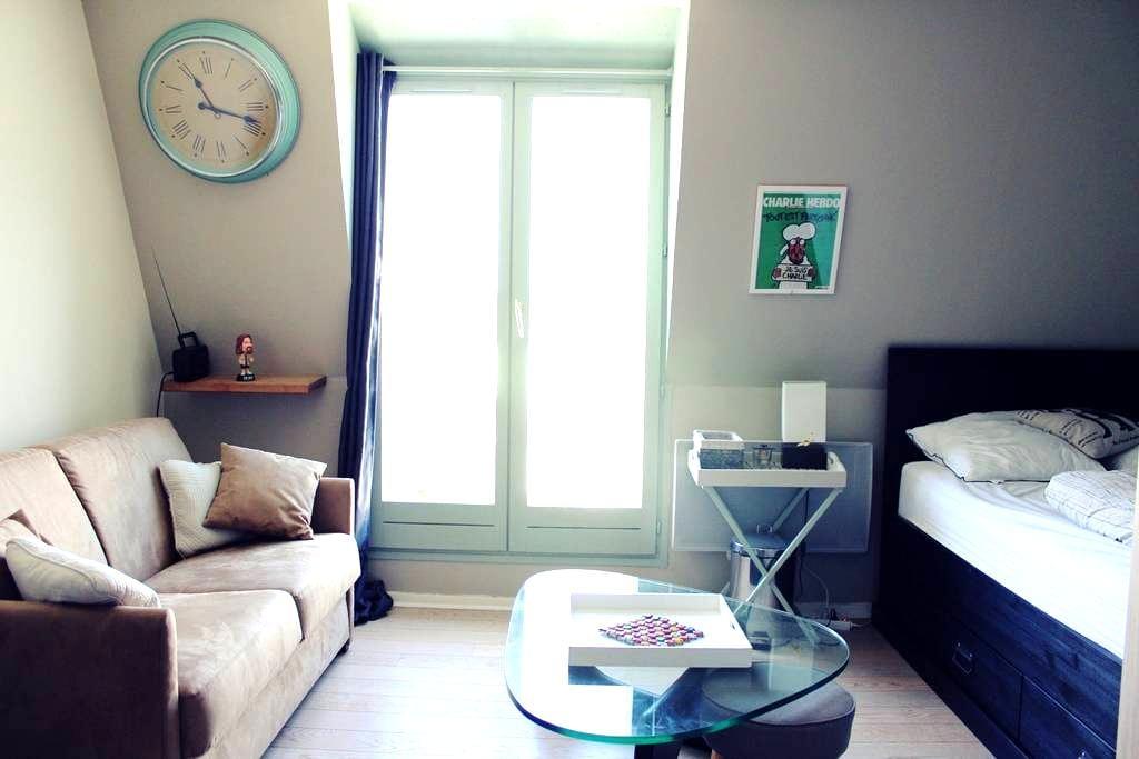 TOP studio vue campagne et mer/wifi - Blonville-sur-Mer - Apartemen