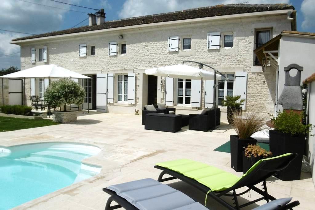 Chambre d'hôte près de Saintes 17 - Saint-Sever-de-Saintonge - Bed & Breakfast