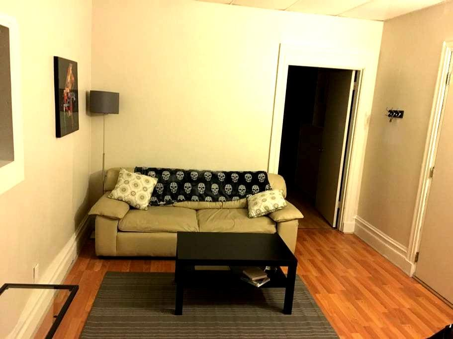 Huge private 2 bedroom 1 bath apartment. Shadyside - Pittsburgh - Apartment