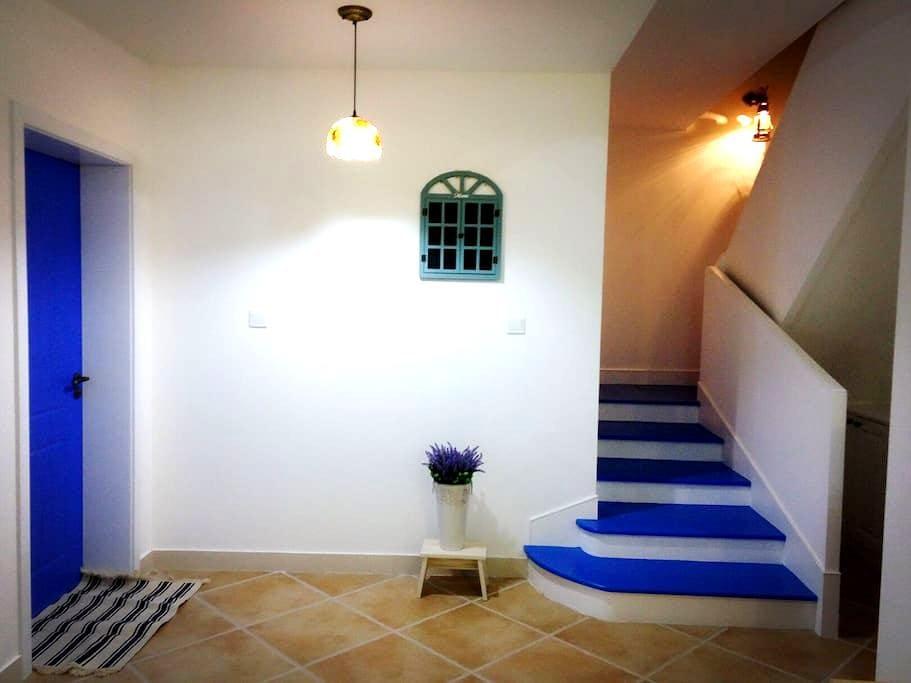 地中海复式楼美式大床房 - Wuxi - Bed & Breakfast