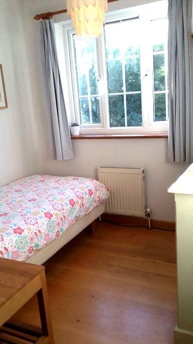 Cosy single room in welcoming home. - Cambridge - Huis