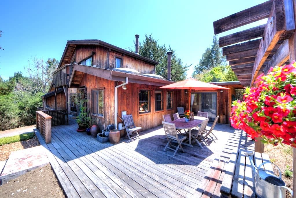 Stunning reclaimed wood home Bdrm#3 - Point Reyes Station - Casa