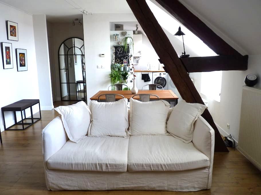 Appartement cosy au coeur du quartier historique - Auxerre - Appartement