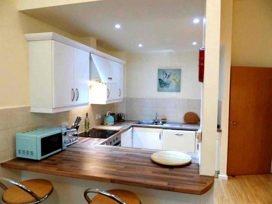 Modern 1 Bed Ground Floor apartment flat. - Chesterfield - Lägenhet