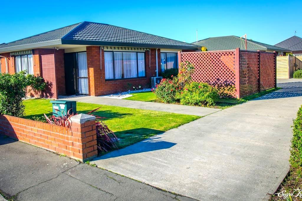 Brand new private en-suite, kitchen, parking & VOD - Christchurch - Apartemen