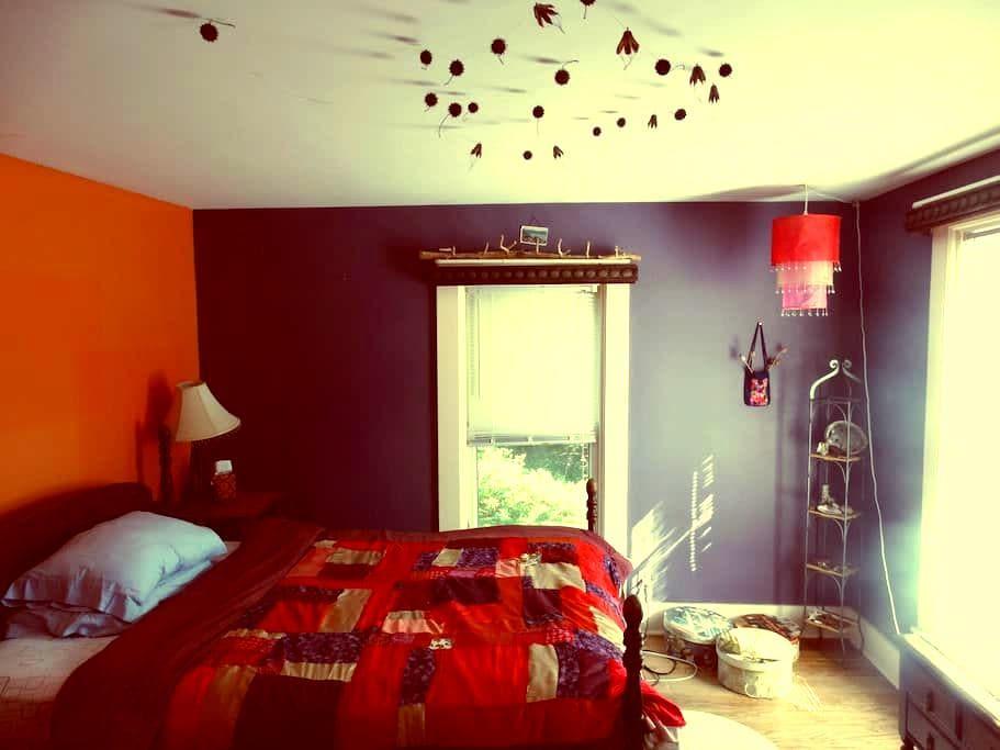 Charming room 1 in Victorian Mansion - Batavia - Ev
