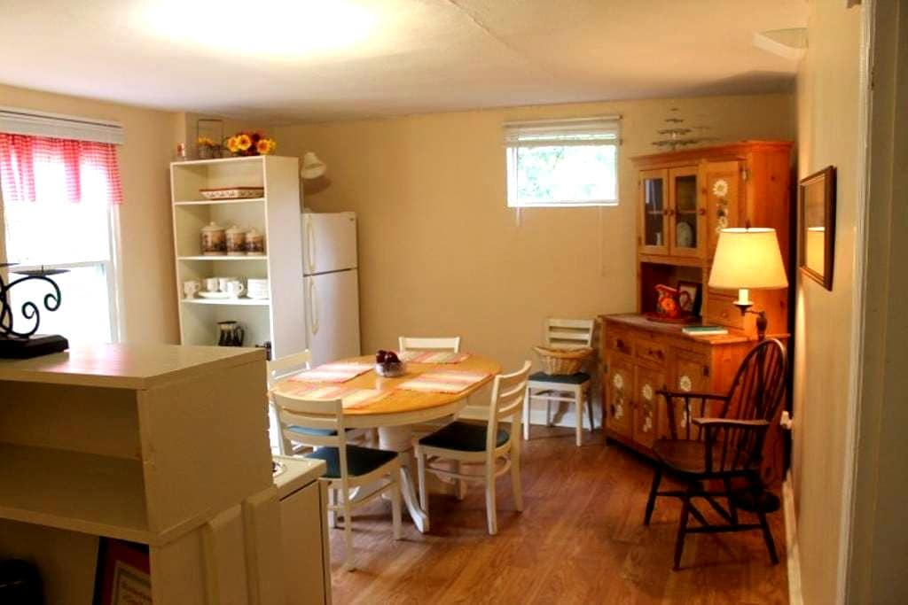 Private Basement Apt./Full kitchen/No cleaning fee - Knoxville - Hus
