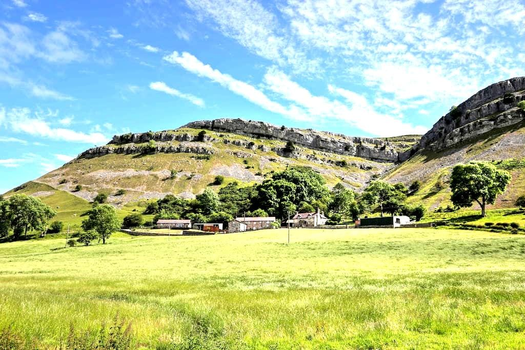The 2 Bedroom Lodge @ Panorama Cottages - Llangollen - Naturstuga
