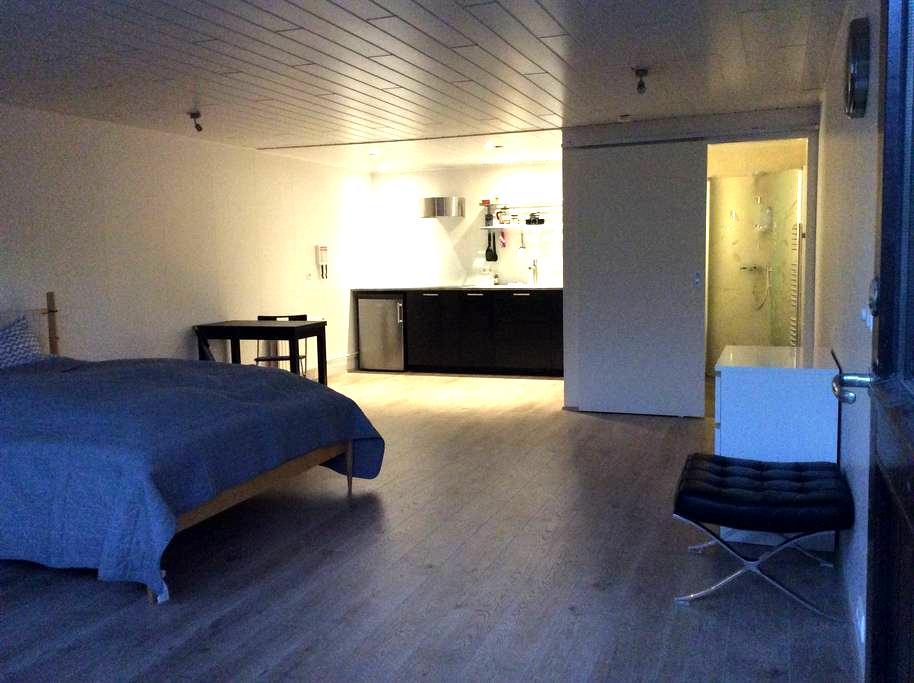 Lovely studio in greater Reykjavik area - Kópavogur - Appartement