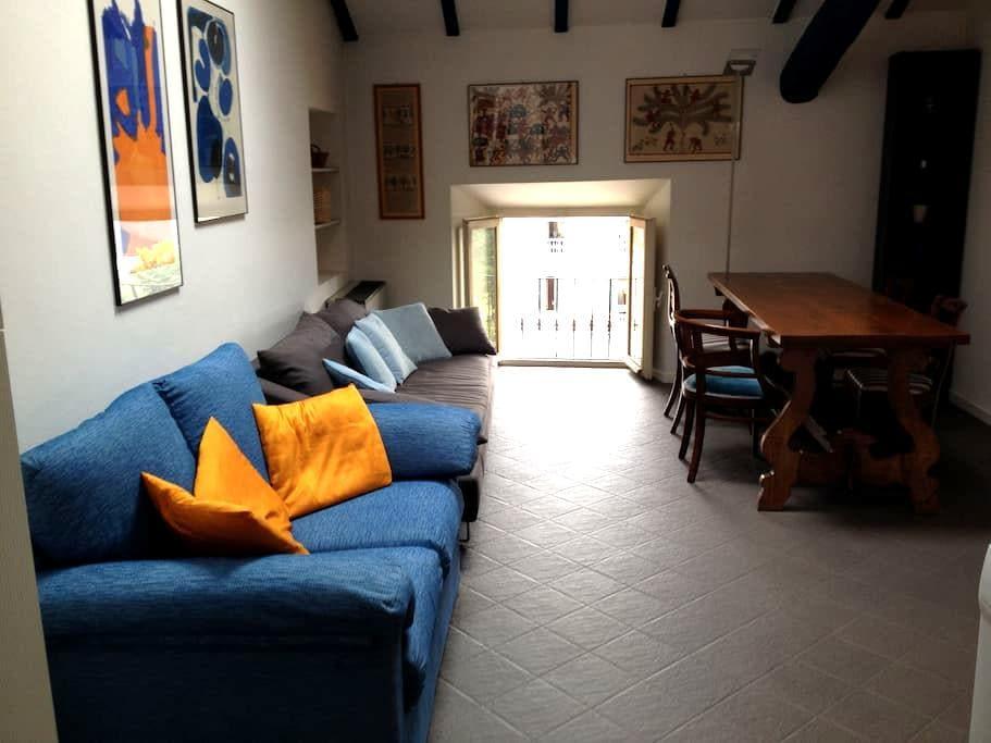 Central flat with mezzanine - Pallanza - Appartement