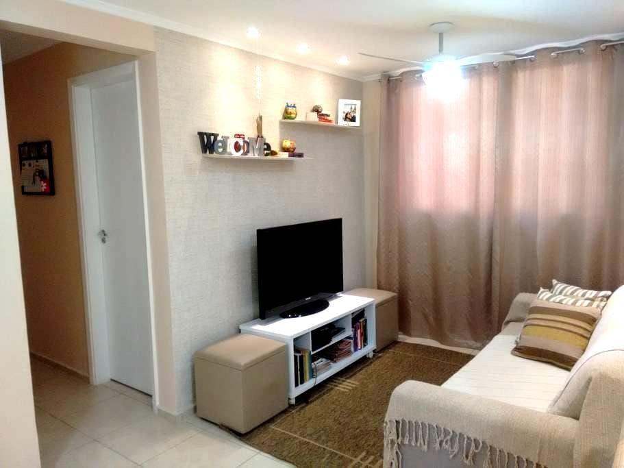 Quarto confortável na Zona Norte - Rio de Janeiro - Leilighet