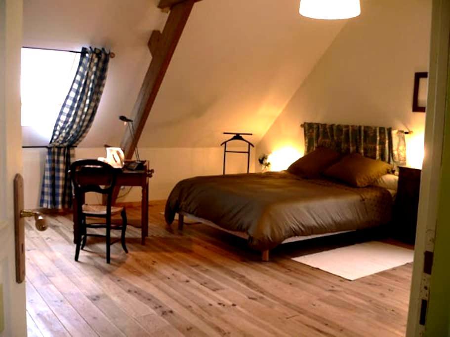 Ferme flamande rénovée: Chambre Jacobus - Steenvoorde - Hus