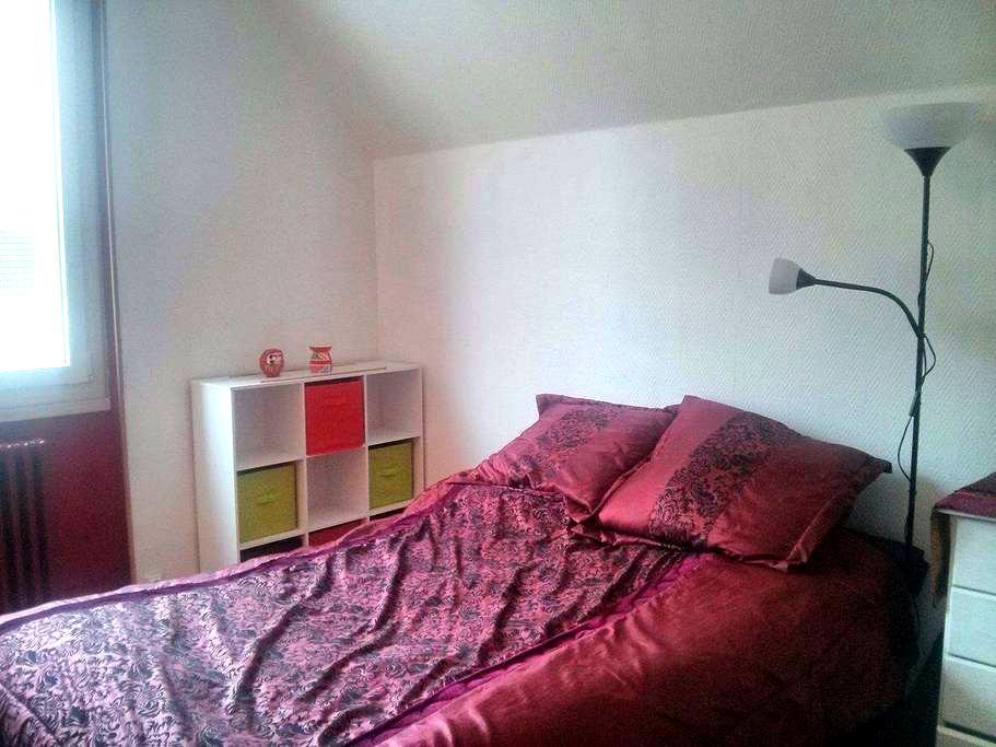 Grande chambre double quartier Fac - Dijon - Hus